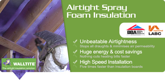 Solarcrest offer breathable open-cell and vapour protection closed-cell spray foam insulation suitable for walls, floors and roofs