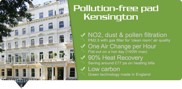 no2 filter to tackle poor air quality in london