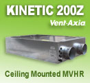 Vent-Axia Kinetic Horizontal 200Z