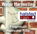 Frogmouth Rainwater Filter