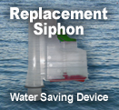 Saver-Siphon<sup><font size=1>TM</font></sup> Water Saving WC
