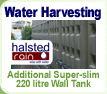 Extra 220 Litre Slim Wall Tank