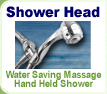 Low-Flow Hand Held Shower Head