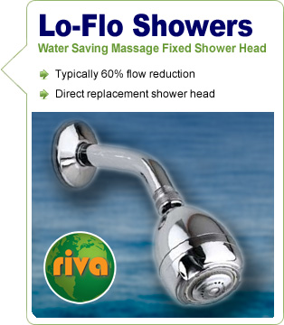 Low-Flow Fixed Shower Head